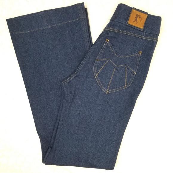 """Karen Walker Denim - Karen Walker """"Original Sin"""" high waist flare jeans"""